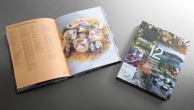"Livre de cuisine ""12 Ballades Gourmandes"""